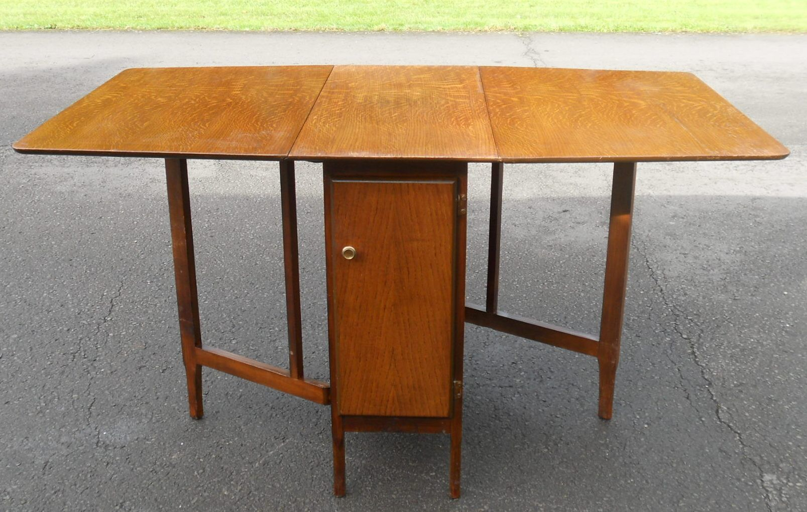 Space Saver Dining Table Mahogany Dropleaf Spacesaver To Seat Eight SOLD
